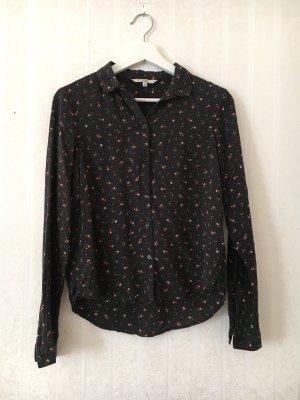 Bluse / Hemd mit Blumenmuster 36
