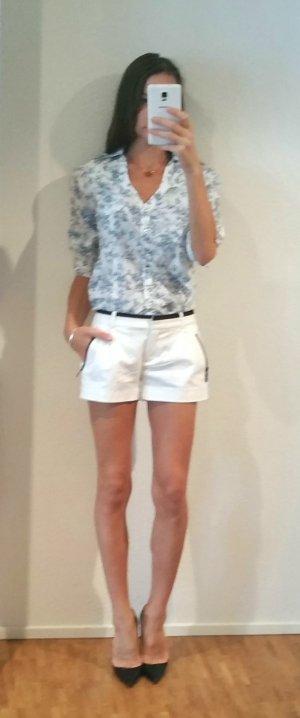 Bluse Hemd mit Porzellan Muster gr 38