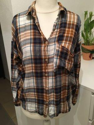 Bluse Hemd Oberteil Holzfäller oversized kariert Blogger Gr. M TOP