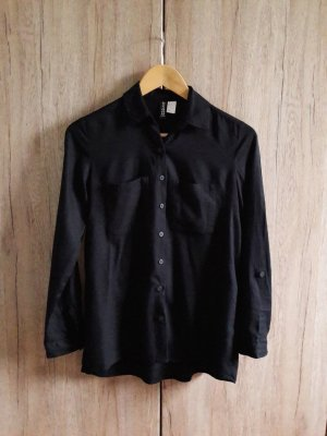 Bluse Hemd schwarz Gr. 34
