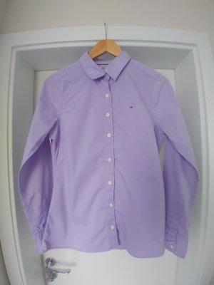 Bluse Hemd Tommy Hilfiger Denim Gr. M-L lila