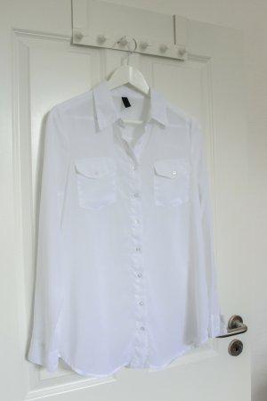 Bluse, Hemd, Vero Moda, Gr.M, einwandfrei, weiß