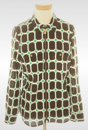Michael Kors Checked Blouse multicolored