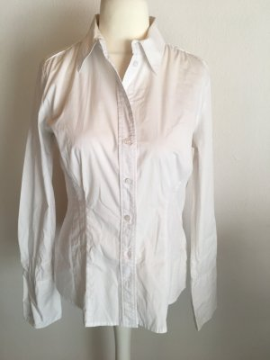 Bluse Hemd weiß Langarmbluse Basic S.Oliver Gr. 42