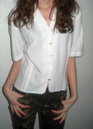 Short Sleeved Blouse white