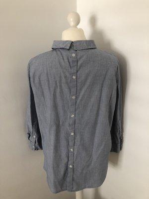 Bluse/Hemdbluse mit Bubikragen