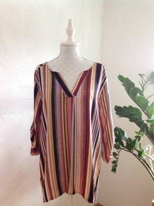 Bluse herbstfarben gestreift, NEU aus Italien