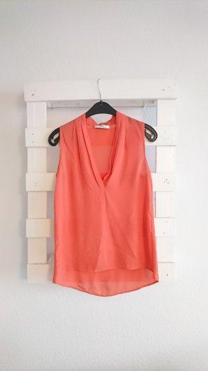 Bluse I orange I Mango I XS I 34