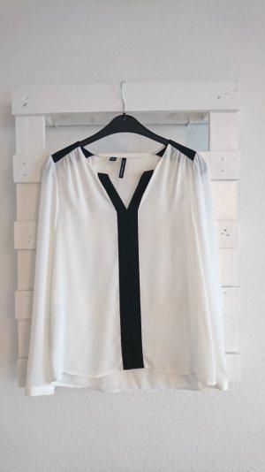 Bluse I schwarz-weiß I Mango I XS I 34