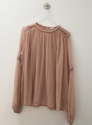Bluse im Chloé-Stil, sehr weit und fließend
