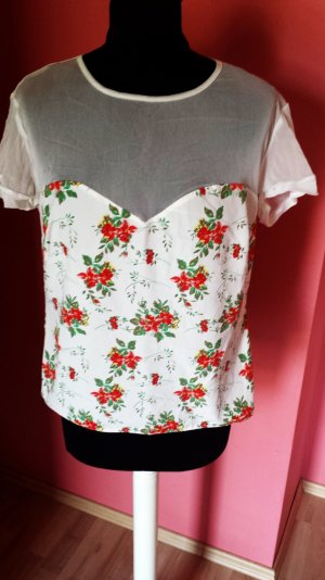 Bluse im floral Muster