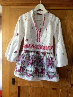 Bluse im Folklore Stil Gr. M von Sete di Jaipur