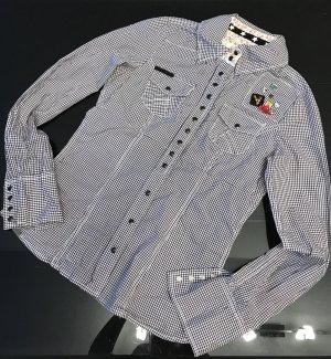 Bluse im Hemdlook von Khujo Gr. 34/36