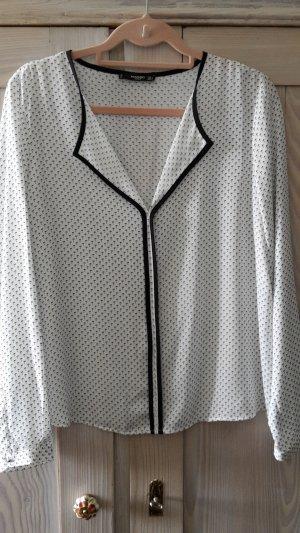 Bluse im Pyjama-Stil mit Palmen
