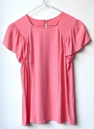 Bluse in angesagtem Pink!