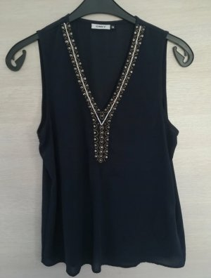 Only Blusa blu scuro