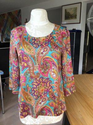Great plains Glanzende blouse veelkleurig