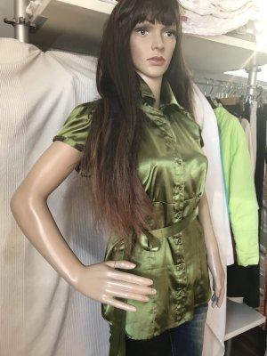 Bluse in einem tollen Grün, Gr M, KP 40€