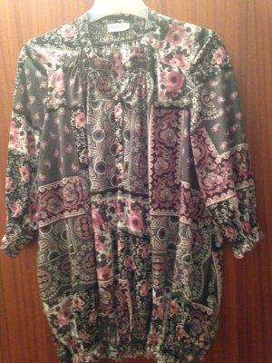 Bluse in grösse XL aus Polyester 3/4 Ärmel