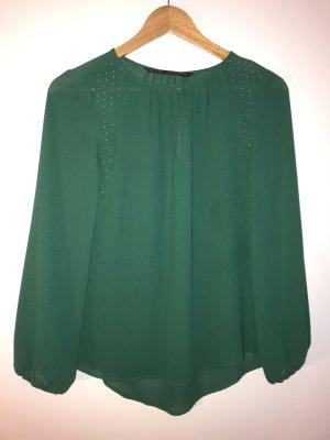 Bluse in grün