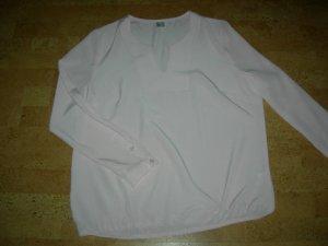 Slip-over blouse lichtroze Polyester