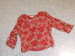 Bluse in Herbstfarben