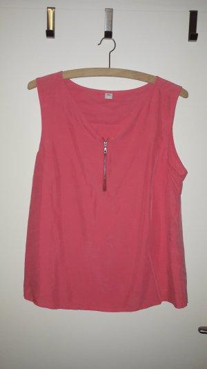 Bluse in hummerfarben von S.Oliver, Größe 40