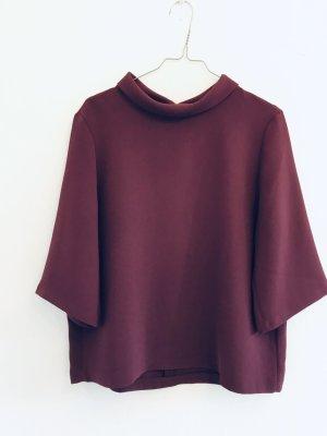 Esprit Kimono Blouse bordeaux wool