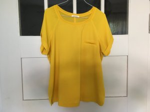 Promod Slip-over blouse geel