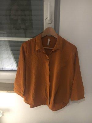 Fashion New York Blouse donker oranje