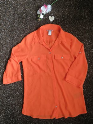 Bluse in Orange von H&M