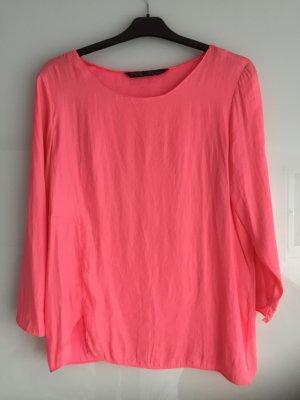Bluse in pink von Zara