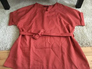 Camicetta a blusa ruggine