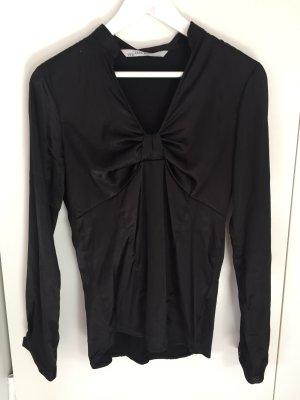 Bluse in Satinoptik von Zara