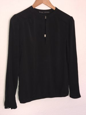 Bluse in Seidenoptik von Zara