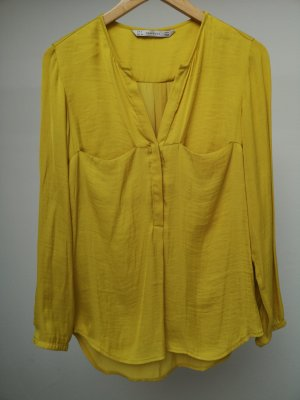 Zara Splendor Blouse lime yellow