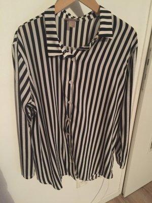 Bluse in Streifenoptik von H&M in Größe L