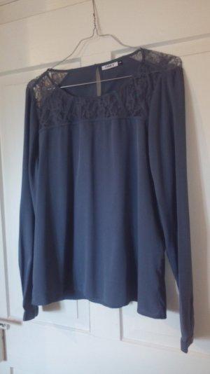 Bluse in taubenblau von Only
