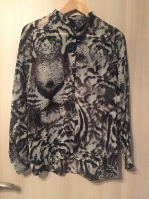 Bluse in Tigermuster von OBJECT