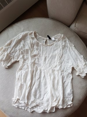 Bluse in weiss creme