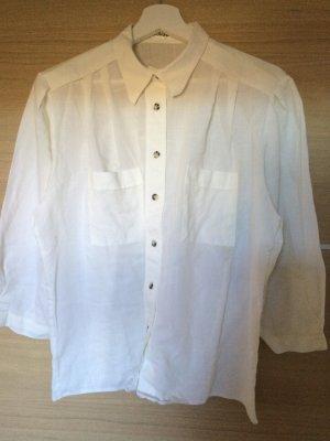 Bluse in weiß Größe 44