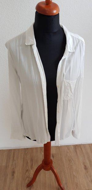 Bluse in weiß von Khujo