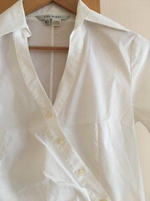 Bluse in weiß von Zara woman