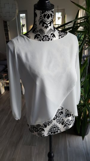 Wraparound Blouse natural white-cream
