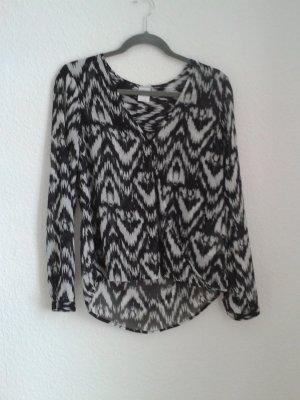 Bluse in Wickeloptik von H&M