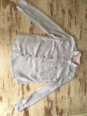 Bluse in zartem Blau H&M Gr. 40