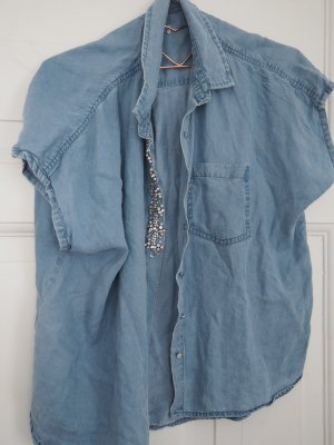 bluse jeans wasted look