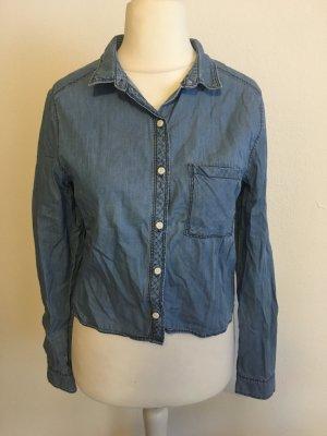 H&M Blouse en jean multicolore