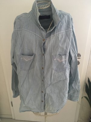 Bluse jeansoptik