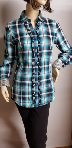 Tom Tailor Blouse en lin bleu